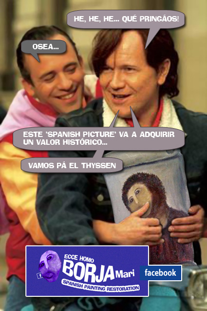 """""""EL ECCE HOMO DE BORJA, HECHO UN CRISTO"""""""