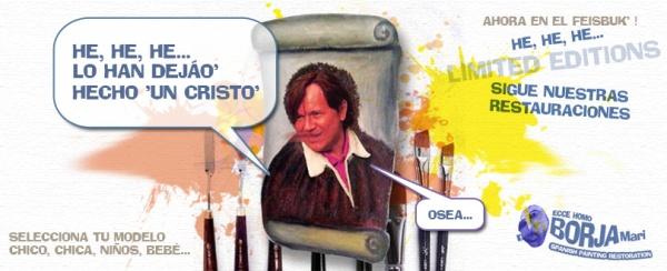 """""""CAMISETAS DEL ECCE HOMO DE BORJA"""""""